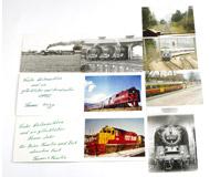 модель Horston 17487-54 Комиссионная модель. Цветные и ч/б фотографии на жд тематику. 8 шт. Цена за все.