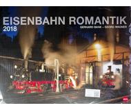 модель Horston 17518-5 Комиссионная модель. Большой настенный перекидной календарь Eisenbahn Romantik на 2018 год, новый, запечатан.