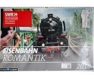 модель Horston 17519-5 Комиссионная модель. Большой настенный перекидной календарь Eisenbahn Romantik на 2018 год, новый, запечатан.