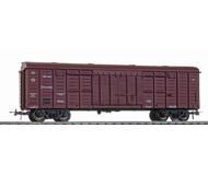 модель Horston 17862-100 Четырёхосный товарный вагон 11-217. Производство Бергс. Артикул по каталогу Bergs 191. Фотография выполнена с продаваемой модели.