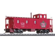 модель Horston 17933-85 30' GTW деревянный вагон-caboose для отдыха бригады локомотива 20-х годов прошлого века. Принадлежность Grand Trunk Western. Производство Walthers. Артикул по каталогу Walthers 932-7517. Фотография выполнена с продаваемой модели.