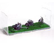 модель Железнодорожные модели 18144-79 Диорама Вторая мировая война, немецкое 105мм-орудие с расчетом, радист и наблюдатели. Артикул 7-10/07/18 Масштаб 1:72