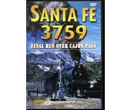 модель Железнодорожные модели 18155-85 DVD Santa Fe 3759. Продолжительность 1:00 На английском языке.