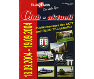 модель Horston 18193-54 Журнал TILLIG TT BAHN Club-aktuell, выпуск 3/2004. Множество предложений, советов и идей, актуальная информация и новости с завода Tillig. На немецком языке.