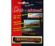 модель Horston 18194-54 Журнал TILLIG TT BAHN Club-aktuell, выпуск 4/2004. Множество предложений, советов и идей, актуальная информация и новости с завода Tillig. На немецком языке.