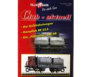 модель Horston 18196-54 Журнал TILLIG TT BAHN Club-aktuell, выпуск 1/2005. Множество предложений, советов и идей, актуальная информация и новости с завода Tillig. На немецком языке.