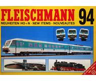 модель Horston 18200-54 Новинки FLEISCHMANN 1994. На английском, немецком и французском языках.