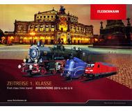 модель Horston 18202-54 Каталог FLEISCHMANN 2015 масштабы H0/N. 124 стр. На английском и немецком языках.