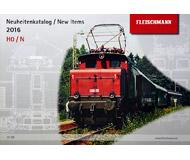 модель Horston 18204-54 Новинки FLEISCHMANN 2016 масштабы H0/N. На английском и немецком языках.