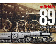 модель Железнодорожный Моделизм 18209-54 Новинки MARKLIN 1989. На немецком языке.