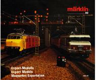 модель Железнодорожный Моделизм 18210-54 Каталог Экспортные модели MARKLIN 1989/90. На английском, немецком и французском языках.