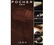модель Железнодорожный Моделизм 18212-54 Модели автомобилей POCHER, масштаб 1/8, 1995 год. На английском, немецком и других языках.