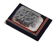 модель Железнодорожный Моделизм 18251-1 Аксессуары для рельс RealTrax. Адаптеры для соединения между собой рельс с балластом Atlas и MTH. Упаковка из 24 шт. Производство MTH. Артикул по каталогу MTH 81-1011. Новые, запечатаны.