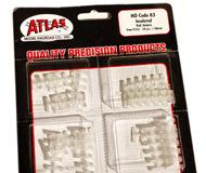 модель Железнодорожные модели 18254-1 Комплект из 24 изолирующих переходных контактов для профильных рельс. Подходят для рельс ROCO, PECO, ATLAS и т. д. Производство ATLAS. Артикул по каталогу ATLAS 552. Новые, запечатаны.