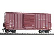 модель Horston 18304-1 40' американский четырехосный товарный вагон увеличенной высоты. Принадлежность BNSF #726127. Подобные вагоны использовались с 60-х годов XX века. Производство ATHEARN. Артикул по каталогу ATHEARN 76603. Новый, в коробке.