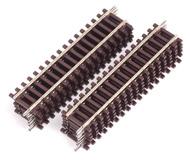 модель Железнодорожные модели 18345-1 Прямая DG1 длина 119 мм. Высота рельса 2.1 мм. 12 штук. Производство ROCO. Артикул по каталогу ROCO 42411. Новые, в коробке.