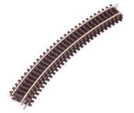 модель Horston 18352-1 Радиусный рельс R3 419.6 мм. 30°. Высота рельса 2.1 мм. 3 штуки. Производство ROCO. Артикул по каталогу ROCO 42423. Новые, в коробке.