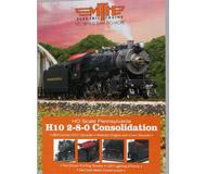 модель ModelRailroader 18357-1 Каталог MTH - паровоз H10 2-8-0 в масштабе HO