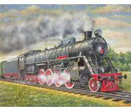 модель Железнодорожный Моделизм 18480-85 Репродукция картины на жд тематику. Размер 40х31,5