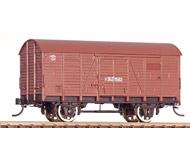 модель Horston 18812-2 Двухосный товарный вагон, принадлежность СССР, № 1 362 9582. Вагон изготовлен на базе корпуса вагона PIKO с полным удалением первоначальной краски и заново окрашен в соответствии с прототипом. Установлены спицованные колесные пары с окрашенным белой краской ободом, сцепки - аналог Kadee, установлены и окрашены в цвет вагона металлические поручни. Надписи выполнены с помощью декалей. В связи с особенностями производства, данная модель вагона существует в единственном экземпляре. Новый, некатанный.