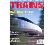 """модель Железнодорожные модели 19500-85 Журнал """"TRAINS"""". Номер 2 / 2001. На английском языке."""