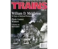 """модель Железнодорожные модели 19502-85 Журнал """"TRAINS"""". Номер 4 / 2001. На английском языке."""