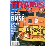 """модель Железнодорожные модели 19504-85 Журнал """"TRAINS"""". Номер 6 / 2001. На английском языке."""