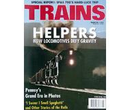 """модель Железнодорожные модели 19506-85 Журнал """"TRAINS"""". Номер 8 / 2001. На английском языке."""