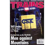 """модель Железнодорожные модели 19508-85 Журнал """"TRAINS"""". Номер 10 / 2001. На английском языке."""
