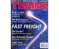"""модель Железнодорожные модели 19509-85 Журнал """"TRAINS"""". Номер 11 / 2001. На английском языке."""