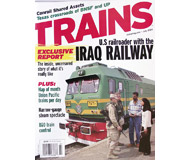 """модель Horston 19541-85 Журнал """"TRAINS"""". Номер 7 / 2004. На английском языке."""