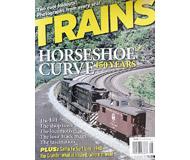 """модель Horston 19542-85 Журнал """"TRAINS"""". Номер 8 / 2004. На английском языке."""