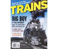 """модель Horston 19543-85 Журнал """"TRAINS"""". Номер 9 / 2004. На английском языке."""
