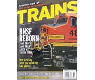 """модель Horston 19544-85 Журнал """"TRAINS"""". Номер 10 / 2004. На английском языке."""