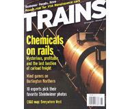 """модель Horston 19545-85 Журнал """"TRAINS"""". Номер 11 / 2004. На английском языке."""