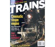 """модель Horston 19547-85 Журнал """"TRAINS"""". Номер 1 / 2005. На английском языке."""