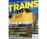 """модель Horston 19548-85 Журнал """"TRAINS"""". Номер 2 / 2005. На английском языке."""