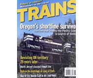 """модель Horston 19554-85 Журнал """"TRAINS"""". Номер 8 / 2005. На английском языке."""