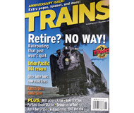 """модель Horston 19557-85 Журнал """"TRAINS"""". Номер 11 / 2005. На английском языке."""