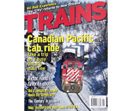"""модель Horston 19559-85 Журнал """"TRAINS"""". Номер 1 / 2006. На английском языке."""
