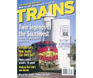 """модель Железнодорожный Моделизм 19561-85 Журнал """"TRAINS"""". Номер 3 / 2006. На английском языке."""