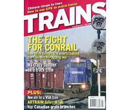 """модель Железнодорожный Моделизм 19565-85 Журнал """"TRAINS"""". Номер 7 / 2006. На английском языке."""