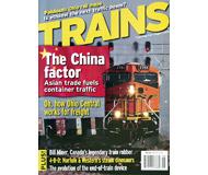 """модель Железнодорожный Моделизм 19566-85 Журнал """"TRAINS"""". Номер 8 / 2006. На английском языке."""