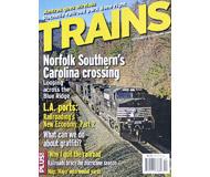 """модель Железнодорожный Моделизм 19567-85 Журнал """"TRAINS"""". Номер 9 / 2006. На английском языке."""
