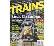 """модель Железнодорожный Моделизм 19568-85 Журнал """"TRAINS"""". Номер 10 / 2006. На английском языке."""