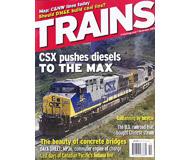 """модель Железнодорожный Моделизм 19569-85 Журнал """"TRAINS"""". Номер 11 / 2006. На английском языке."""