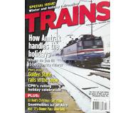 """модель Железнодорожный Моделизм 19570-85 Журнал """"TRAINS"""". Номер 12 / 2006. На английском языке."""