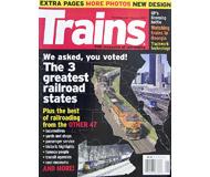 """модель Железнодорожный Моделизм 19571-85 Журнал """"TRAINS"""". Номер 1 / 2007. На английском языке."""