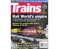 """модель Железнодорожный Моделизм 19572-85 Журнал """"TRAINS"""". Номер 2 / 2007. На английском языке."""