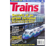 """модель Железнодорожный Моделизм 19573-85 Журнал """"TRAINS"""". Номер 3 / 2007. На английском языке."""